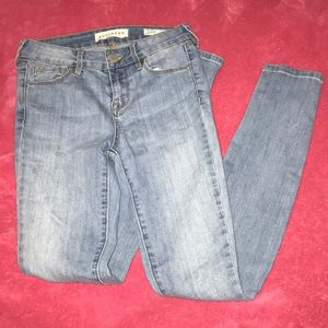 "Mid ride ""skinniest"" jeans"